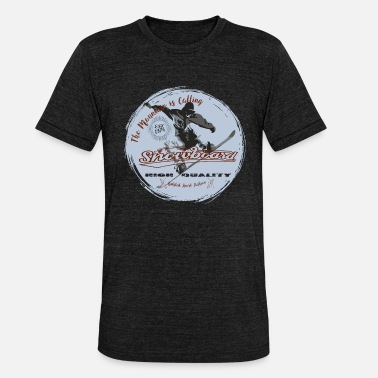 Wintersport Snowboard Wintersport Bstyled - Camiseta triblend unisex