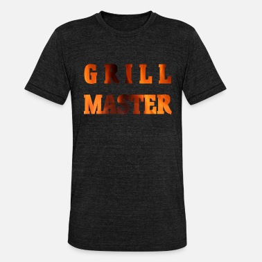 Grill Instructor Grill - Unisex Tri-Blend T-Shirt von Bella + Canvas