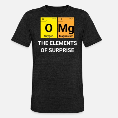 Omg OMG surprise periodic table - Unisex Tri-Blend T-Shirt