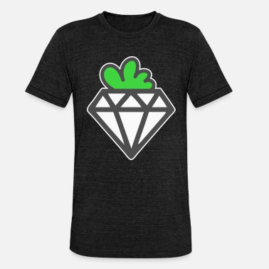 Valuable Diamond as a valuable vegetable - Unisex Tri-Blend T-Shirt by Bella & Canvas