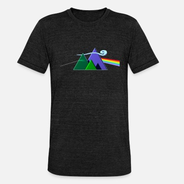 Prog Rock Dark Side Of The Mountains - Unisex T-Shirt meliert