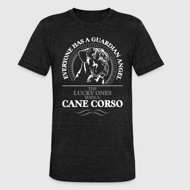 CANE CORSO Guardian Angel Wilsign's Gift Idea - Unisex Tri-Blend T-Shirt by Bella & Canvas