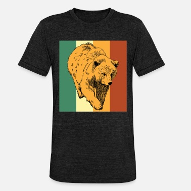 Brown Bear Bear bear brown bear - Unisex Tri-Blend T-Shirt by Bella & Canvas