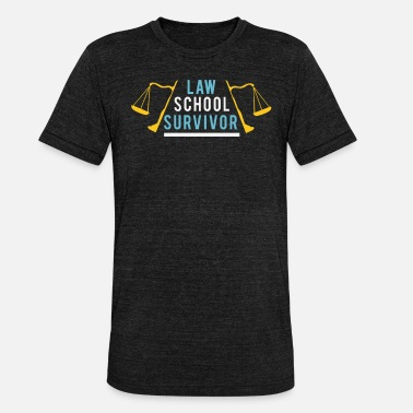 Student Studied law student lawyer attorney gift - Unisex Tri-Blend T-Shirt