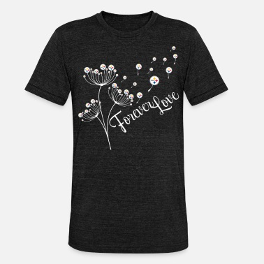 Steelers Pittsburgh Steelers Dandelion Forever Football - Triblend T-shirt unisex