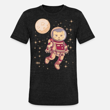 582bf175e Astronomy Astronaut Cat In Space Gift - Unisex Tri-Blend T-Shirt