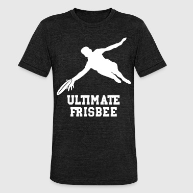 ULTIMATE FRISBEE - Unisex tri-blend T-shirt fra Bella + Canvas
