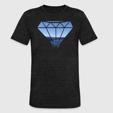 Diamant Diamond Boundless - Unisex tri-blend T-shirt fra Bella + Canvas
