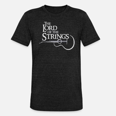 The Lord of the Strings - Unisex T-Shirt meliert