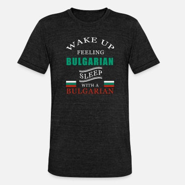Burgas bulgarien - Unisex tri-blend T-shirt fra Bella + Canvas