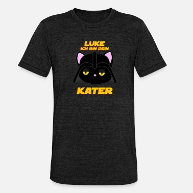 Luke Skywalker Luke tomcat galaxy - Unisex Tri-Blend T-Shirt