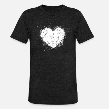 Separate Heartache separation - Unisex Tri-Blend T-Shirt by Bella & Canvas