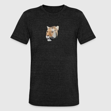 Tiger Comic Tiger Katze Tier Tshirt Comic - Unisex Tri-Blend T-Shirt von Bella + Canvas