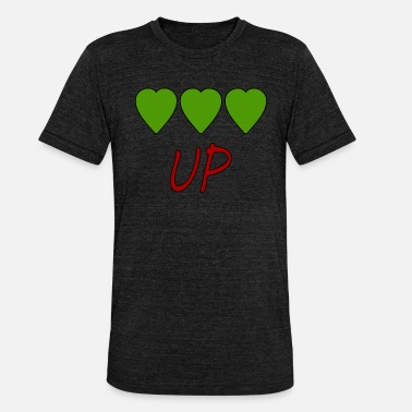 Up UP - T-shirt chiné Bella + Canvas Unisexe