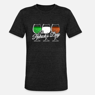 Flag Ireland Flag Irish Flag T-Shirt St. Patrick - Unisex Tri-Blend T-Shirt