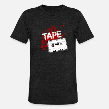 Old School old school music tape - Triblend T-shirt unisex