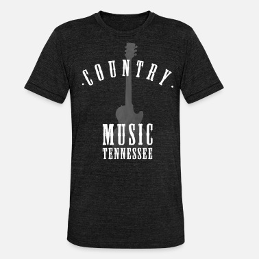 Tennessee country music tennessee - Unisex T-Shirt meliert