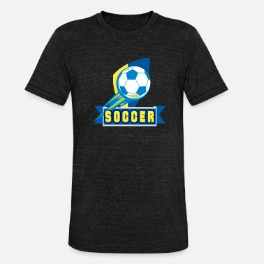 Match De Football match de football - T-shirt chiné Bella + Canvas Unisexe