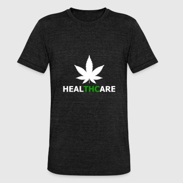 Health care cannabis with THC - Unisex Tri-Blend T-Shirt by Bella & Canvas