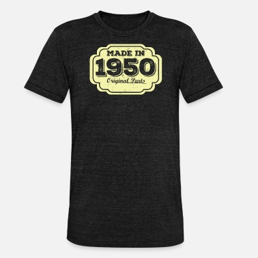 1950 Made in 1950 - Unisex Tri-Blend T-Shirt