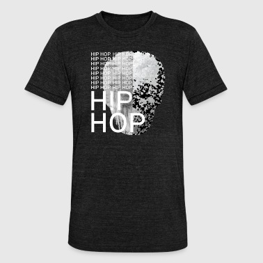 Hip Hop Music rap hip hop musica rock - Maglietta unisex tri-blend di Bella + Canvas