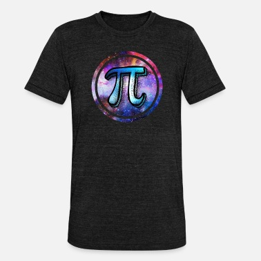 Galaxy Pi Day Galaxy - Maglietta unisex tri-blend di Bella + Canvas