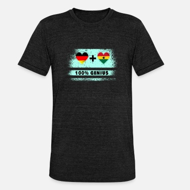 Kumasi Germany and Ghana 100% brilliant / gift - Unisex Tri-Blend T-Shirt