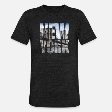 New York New York - My city of love - T-shirt chiné unisexe