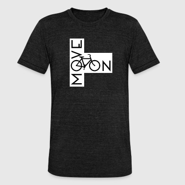 Fiets Race Race Race - Unisex tri-blend T-shirt van Bella + Canvas