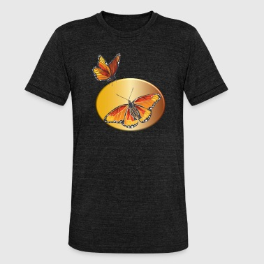 Monarch Butterfly - Unisex Tri-Blend T-Shirt by Bella & Canvas