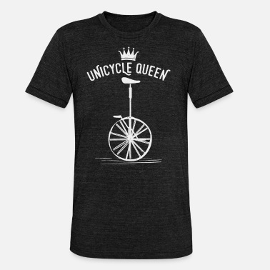 Unicycle unicycle - Unisex Tri-Blend T-Shirt by Bella & Canvas