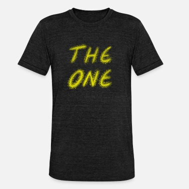 the one - Unisex T-Shirt meliert