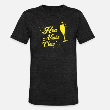 Hen Night Hen Night Crew - Unisex T-Shirt meliert