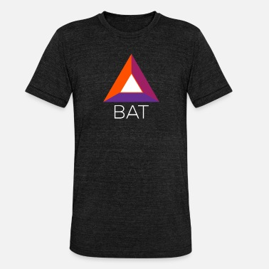 Toke Basic Attention Token (BAT) Crypto-logo - Bella + Canvasin unisex Tri-Blend t-paita.