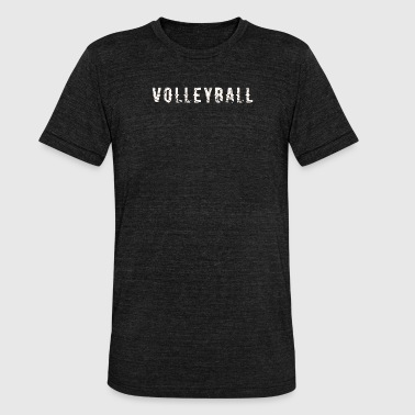 Cool volleyball gift - Unisex Tri-Blend T-Shirt by Bella & Canvas