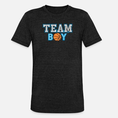Team Boy - T-shirt chiné Bella + Canvas Unisexe