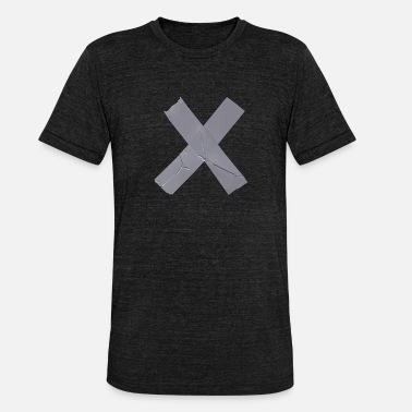 Oprør Cross barrier oprør oprør oprør - Unisex tri-blend T-shirt fra Bella + Canvas