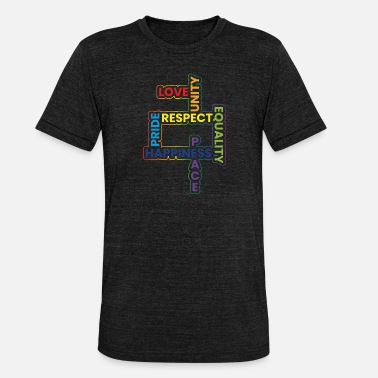 Homosexuality homosexuality - Unisex Tri-Blend T-Shirt
