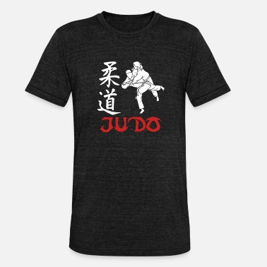 Judo Arts Martiaux - T-shirt chiné unisexe