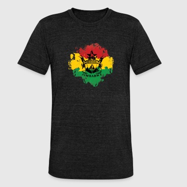Zimbabwe - Unisex Tri-Blend T-Shirt by Bella & Canvas