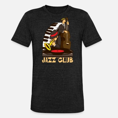 Latin Jazz Jazz Club Jam Session Jazz Lover Design - Unisex Tri-Blend T-Shirt