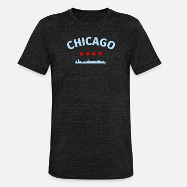 Chicago Chicago City Chicago - Unisex Tri-Blend T-Shirt