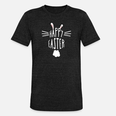 Easter Bunny Happy Easter - Easter T-Shirt - Easter Bunny Gift - Unisex Tri-Blend T-Shirt