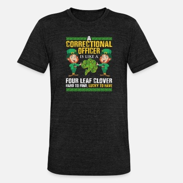 Day Funny St Patricks Correctional Officer - Unisex triblend T-skjorte
