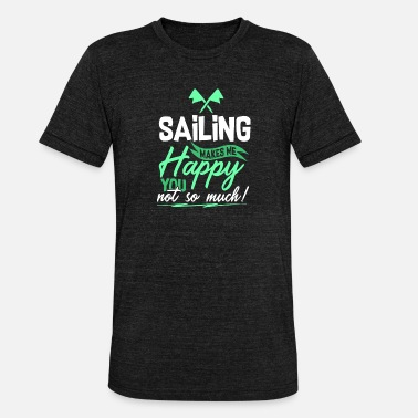 Regatta Sailing - Segeln - Unisex Tri-Blend T-Shirt von Bella + Canvas