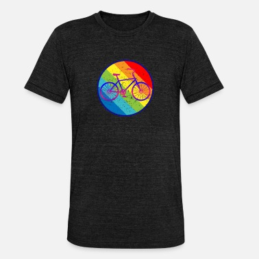 Road Bike Bicycle Road Bike Mountain Bike - Unisex Tri-Blend T-Shirt