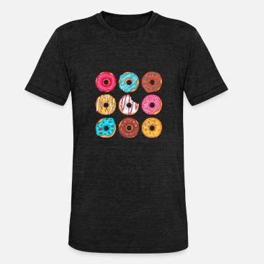 Confiserie Donuts Confiserie Cookie Tart Cake Pies - Unisex Tri-Blend T-Shirt