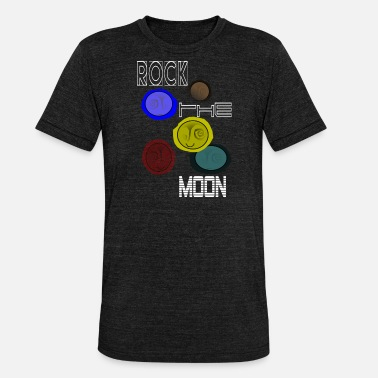 Astro ROCK DEN MOND - Unisex Tri-Blend T-Shirt von Bella + Canvas