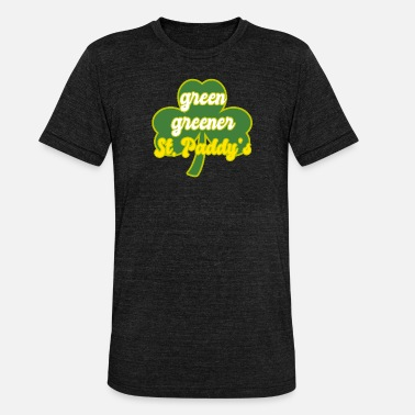 Green Day St. Patrick's day! green greener St.paddys - Unisex T-Shirt meliert