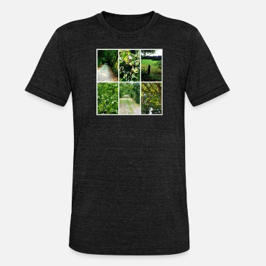 Collage Collage nature - Unisex Tri-Blend T-Shirt
